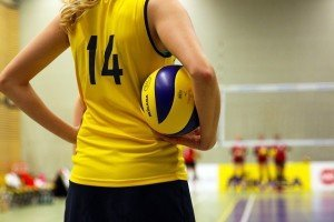 exercise health benefits girl volleyball