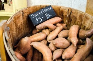 farmers market sweet potatoe benefits