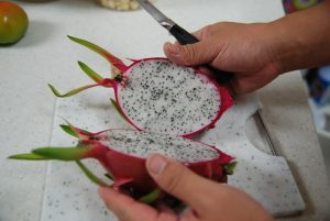 dragon fruit halfs nutritious