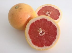 grapefruit cut open